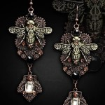 eng_pl_MECHANICAL-BEES-Steampunk-Earrings-copper-gears-insect-1364_1