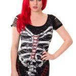 Corset Skeleton Dress
