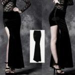 Nemesis Velvet Skirt