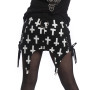Crusifix Skirt Black White Vixxsin 2