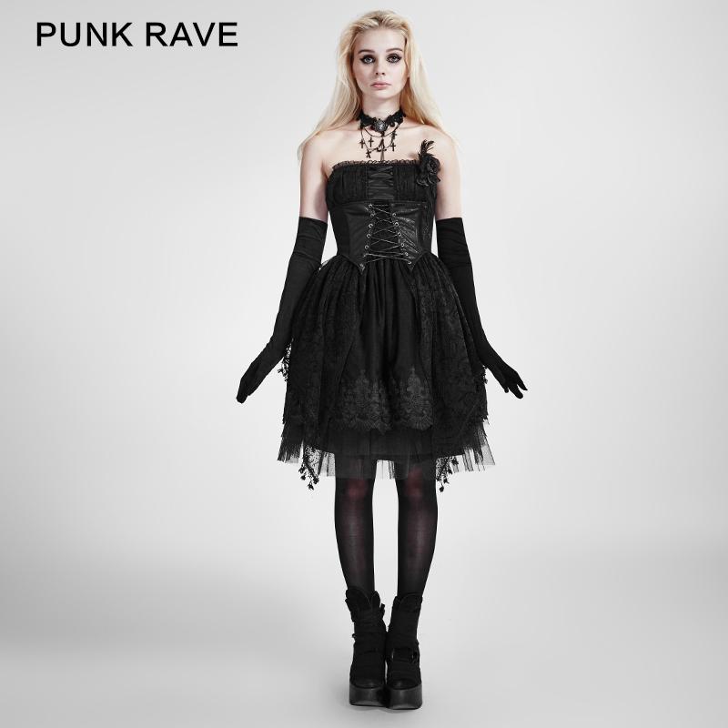 Victoria Poison: Corset Dress Punk Rave