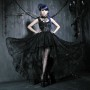 Elegant Gothic Party dress 7