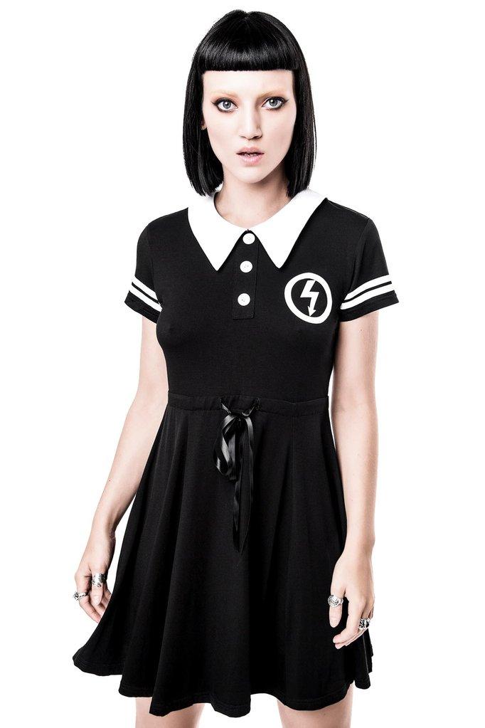 Victoria Poison - Not A Doll Collar Dress - Killstar