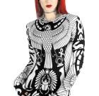 VULTURE HOODIE DRESS