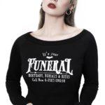 Funeral Crop Sweater