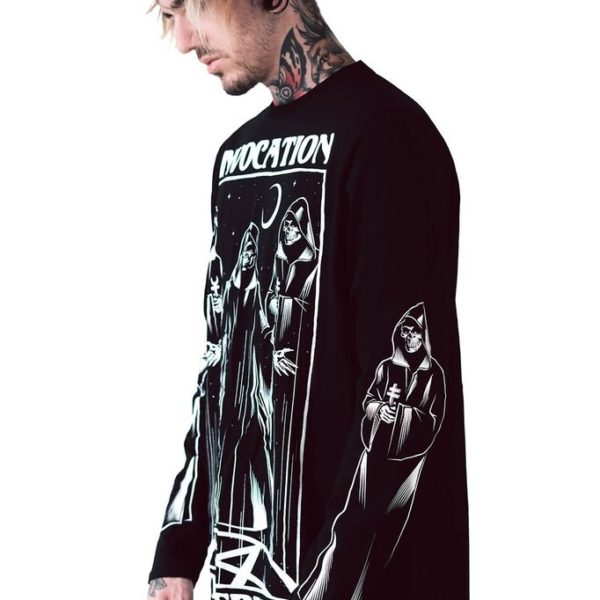 Victoria Poison: Invocation Long Sleeve Top